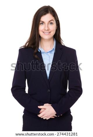 Caucasian businesswoman - stock photo