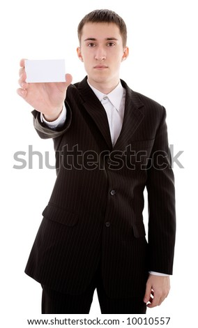 caucasian male person with copy space on background