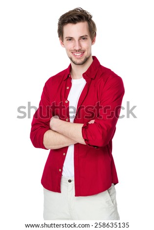Caucasian man - stock photo