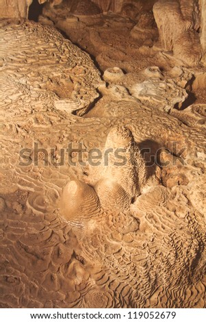 caves in National park thailand - stock photo