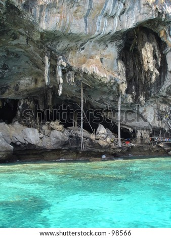 Caves on Islands in Thailand