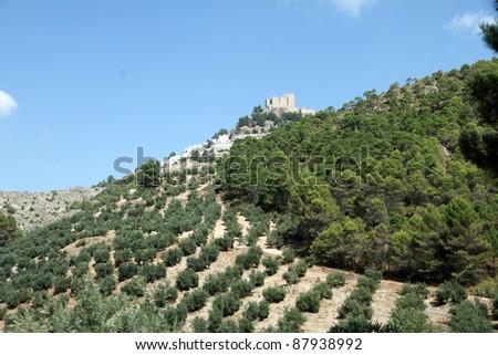 Cazorla and Segura mountain range,Jaen,Andalusia,Spain - stock photo