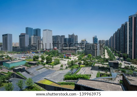 CBD in Chengdu