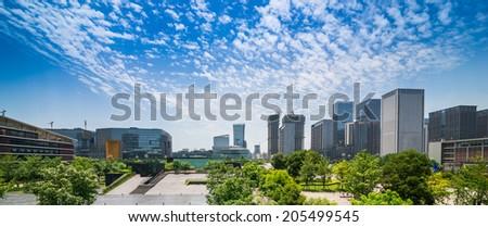 CBD in Chengdu, China - stock photo