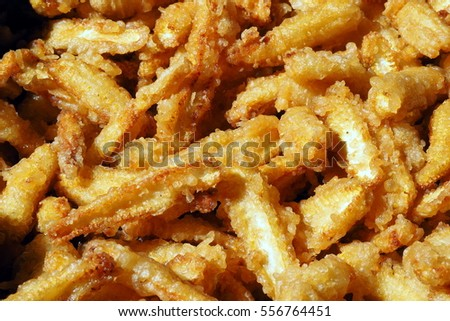 Cclose up of  corn chips