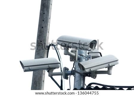 CCTV - stock photo
