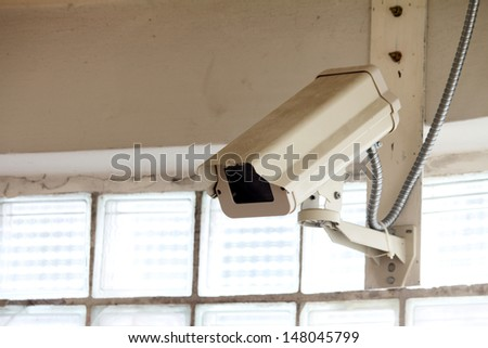 cctv in the building