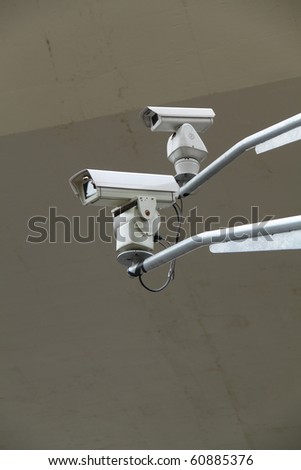 CCTV Security camera in highway