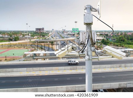 cctv systems on road