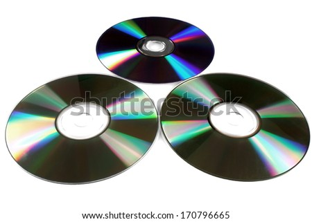 CD - stock photo