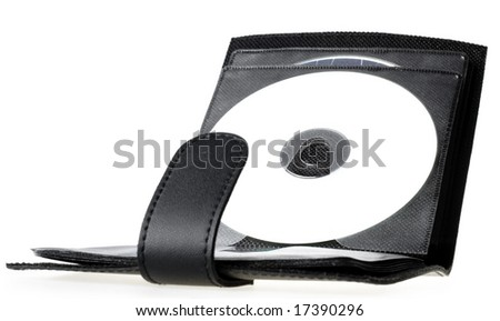 cd bag - stock photo
