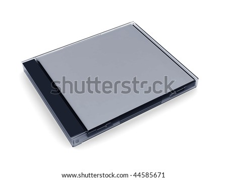 cd box on a white background.