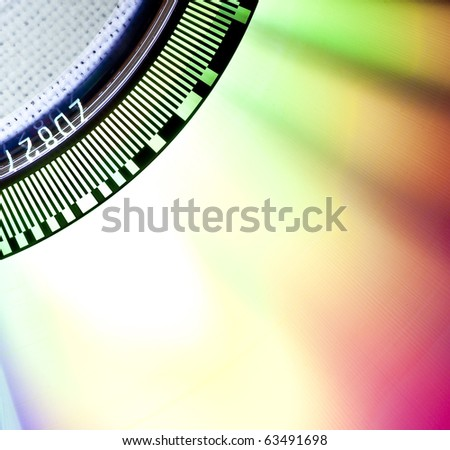 CD Disk - stock photo