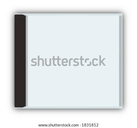 Cddvd Closed Jewel Case Template With Stock Illustration