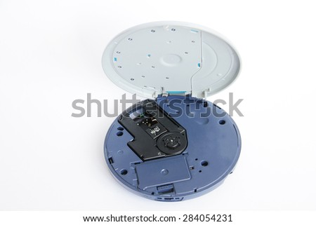 CD player - stock photo
