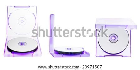 CD set - stock photo