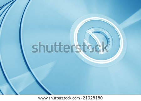 cd technology - stock photo