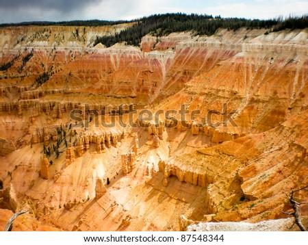 Cedar Breaks National Monument - stock photo