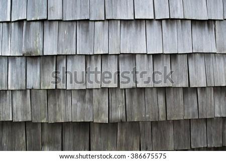 Cedar Shake - stock photo