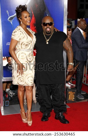 "Cee-Lo and Viveca A. Fox at the Los Angeles premiere of ""Sparkle"" held at the Grauman's Chinese Theatre in Los Angeles, United States on August 16, 2012."