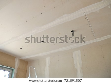 in fix how your ceiling a repair hole to drywall