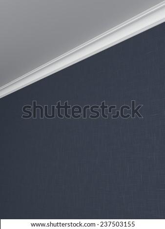 Ceiling cornice - stock photo