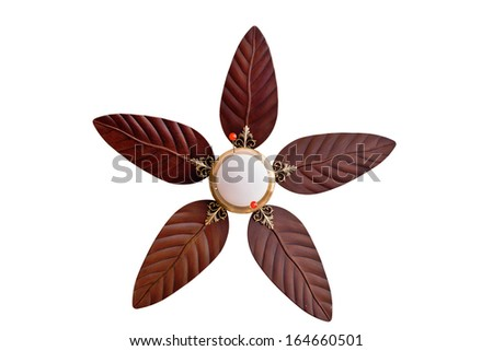Ceiling fans - stock photo