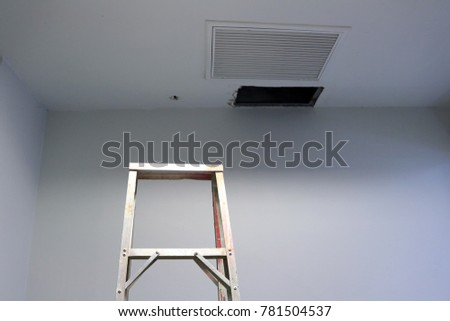 Ceiling Panels Hole Roof Office Drain Stock Photo (Royalty Free) 781504537    Shutterstock