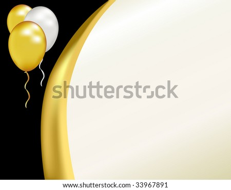 Celebrate a formal event like a graduation, grand opening, or anniversary with this pearl colored black tie background.