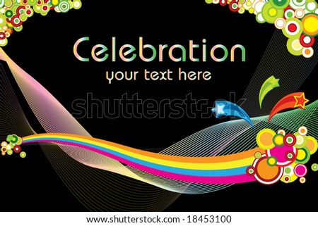 celebration theme (vector version in my portfolio already)