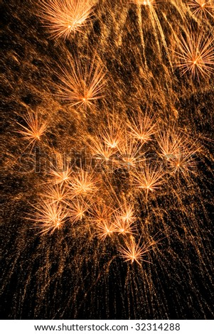 Celebratory Fireworks - stock photo
