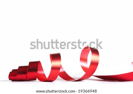 Celebratory tape - stock photo