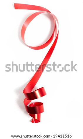 Celebratory tape - stock photo