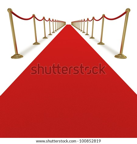 Celebrity treatment star VIP special occasion - stock photo