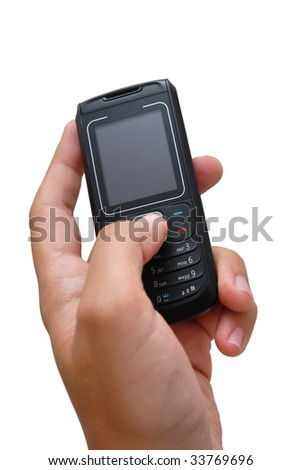 Cell Phone On Hand