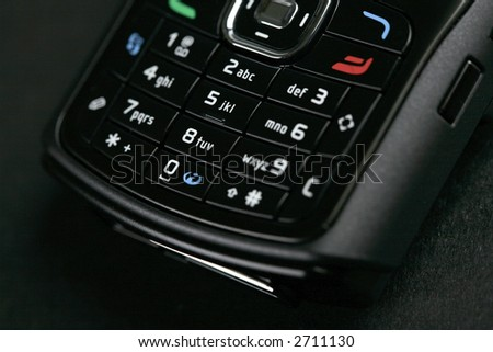 cell phone photo - stock photo