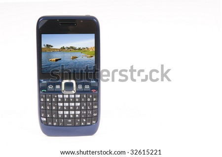 Cellphone - stock photo