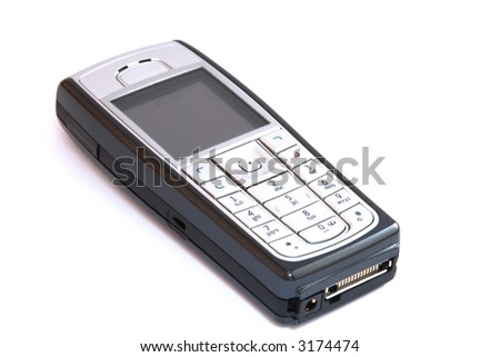 Cellular Phone on white background