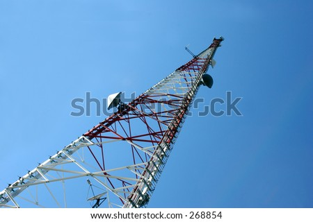Cellular phone tower.