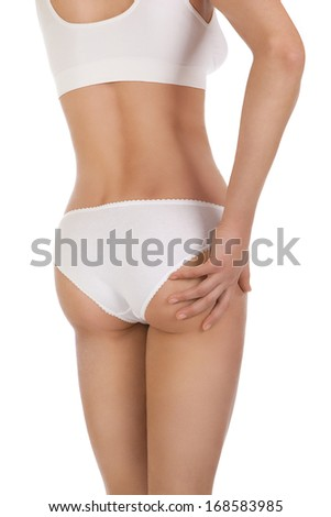 Cellulite treatment program for women, weight loss