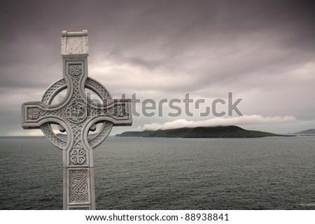Celtic Cross - stock photo
