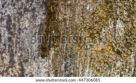 Cement Concrete weathered aged cracked Rough as Background or Texture. - stock photo