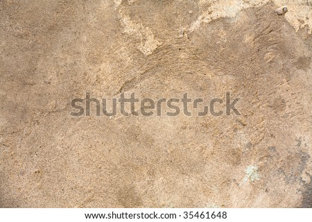 Cement covering - stock photo