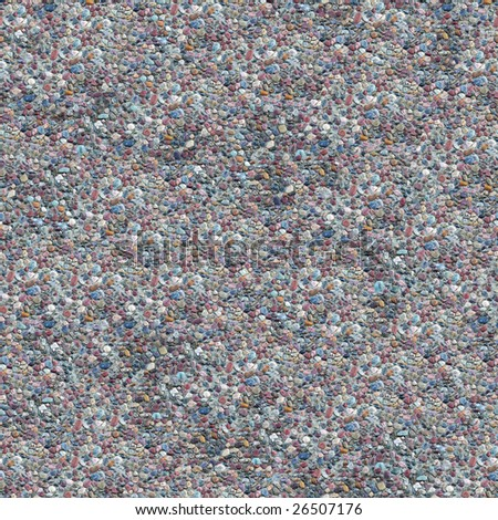 Cement Gravel Seamless Composable Pattern - this image can be composed like tiles endlessly without visible lines between parts - stock photo