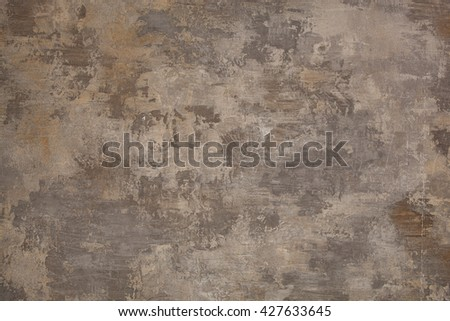 Cement gray wall texture for decorative background - stock photo
