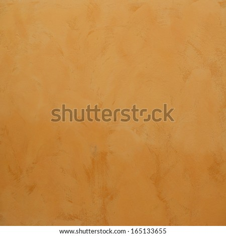 cement orange background  - stock photo