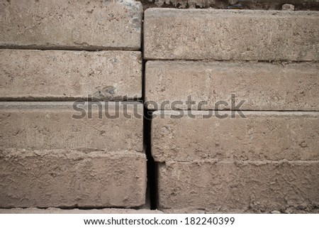 Cement pack - stock photo