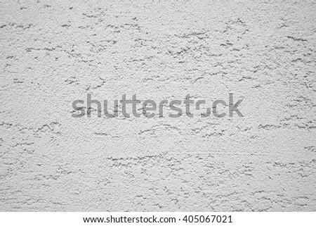 cement plaster wall texture background, white wall - stock photo