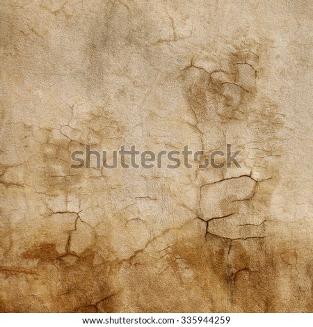 cement wall with crack texture - stock photo