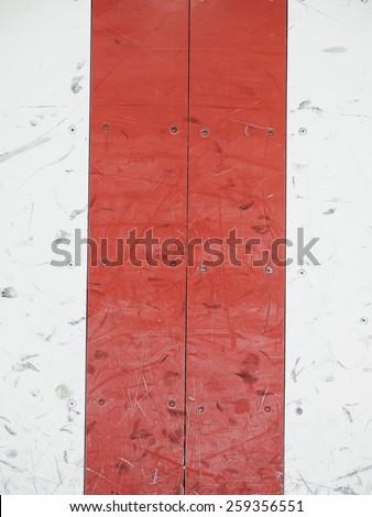 Center ice hockey - stock photo